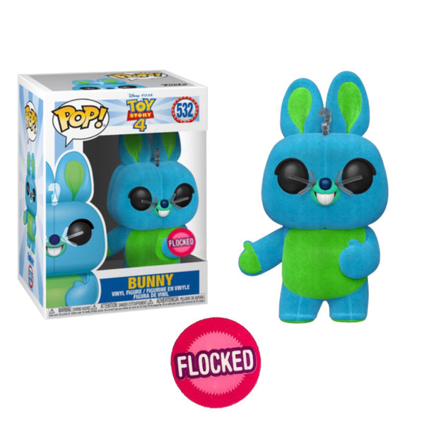 Toy Story 4 Flocked Bunny Funko Pop Vinyl #532