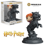 Harry Potter Ron Riding Chess Piece Funko Pop Vinyl Movie Moment Figure #82