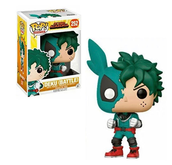 My Hero Academia Deku Battle Funko Pop! Vinyl Figure Exclusive #252