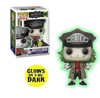 Beetlejuice As Guide Glow In The Dark Funko Pop! Vinyl Figure #605