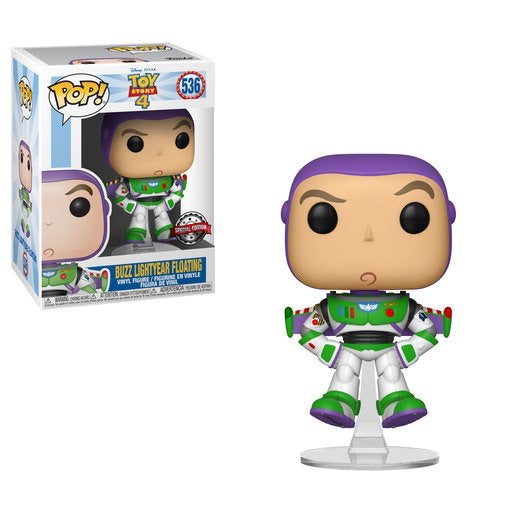 Toy Story 4 Buzz Lightyear Floating Funko Pop Vinyl Special Edition #536