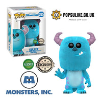 Disney Monsters Inc Sulley Flocked Exclusive Funko Pop! Vinyl Figure #385