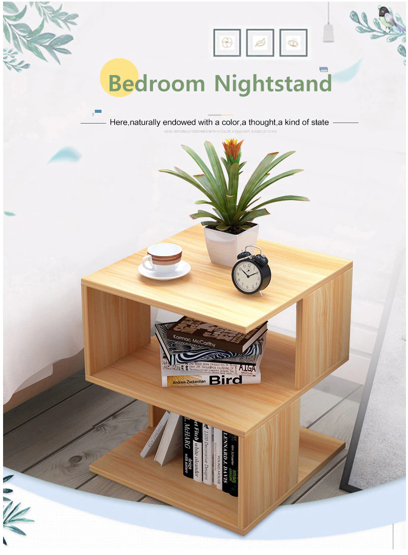 Buy Modern Bedroom Side Table with Drawer & Storage Furniture - Xshopz