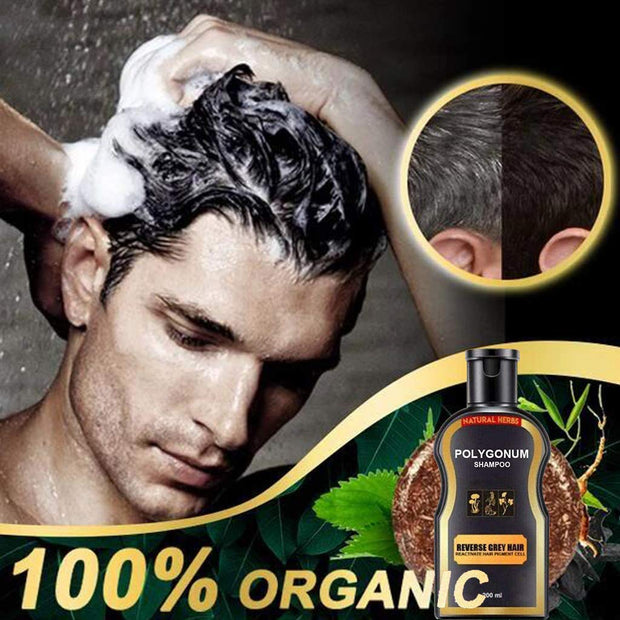 Reverse Grey Hair Color Shampoo