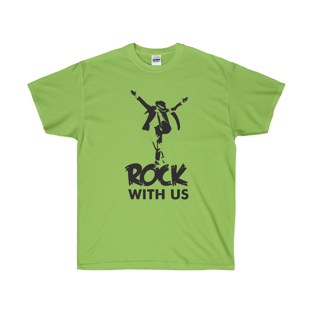 Buy Rock With Us - Unisex Ultra Cotton Tee T-Shirt - Xshopz