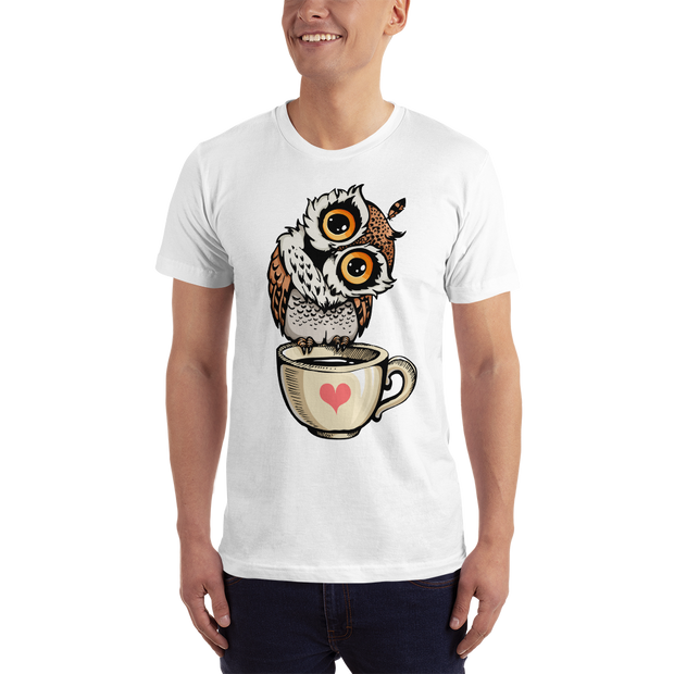 Love Owl Short-Sleeve T-Shirt - Xshopz