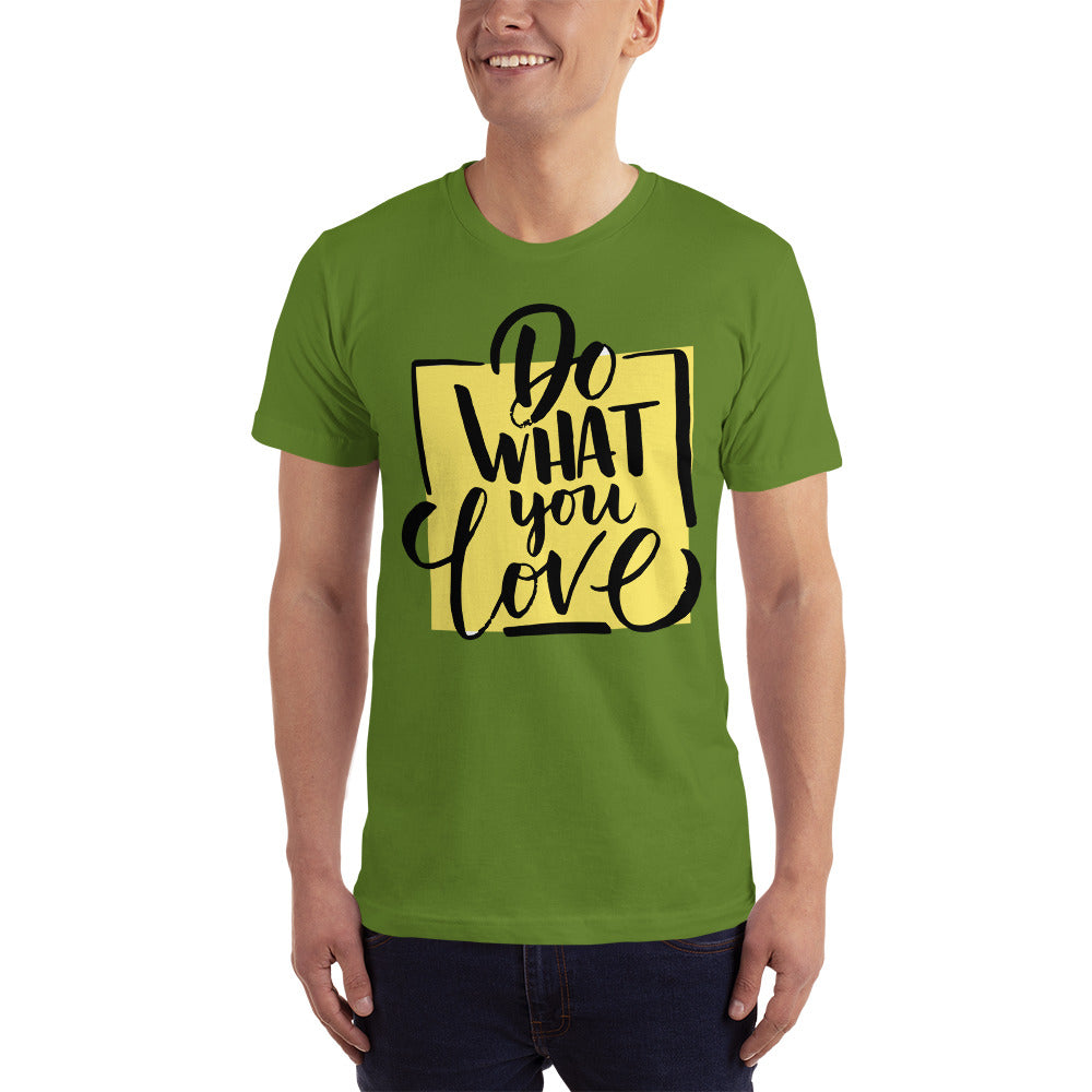 Buy Do What You Love Short-Sleeve T-Shirt Men's Clothing - Xshopz