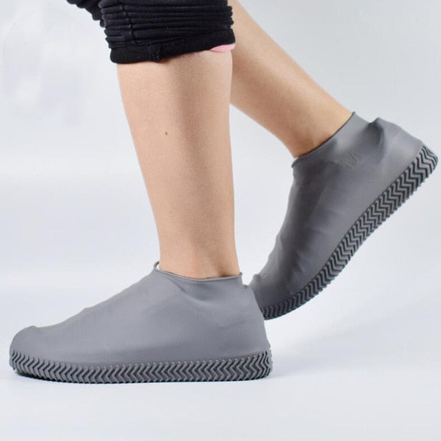 Buy Waterproof Silicone Shoe Cover [Rainproof & Reusable] Men Accessories - Xshopz