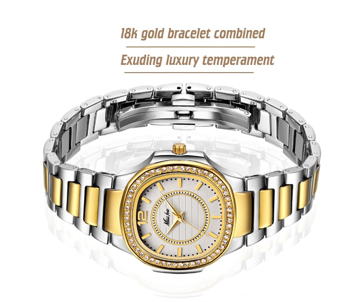 Buy Miss Fox Luxury Queens Diamond Watch Women's Accessories - Xshopz