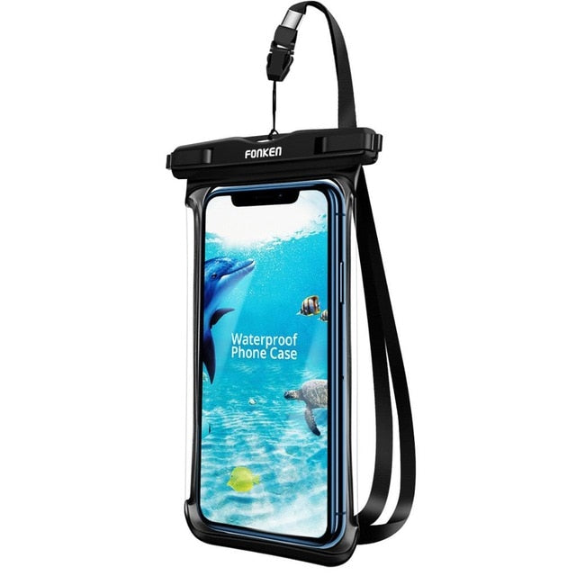 Buy Waterproof Rainforest Underwater Swimming Mobile Phone Pouch & Cover Outdoor Camping - Xshopz