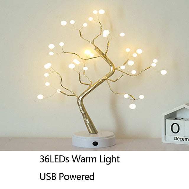 Artificial Tree Branch Lights, LED Tree Lamp Night Light Home Decoration Tree