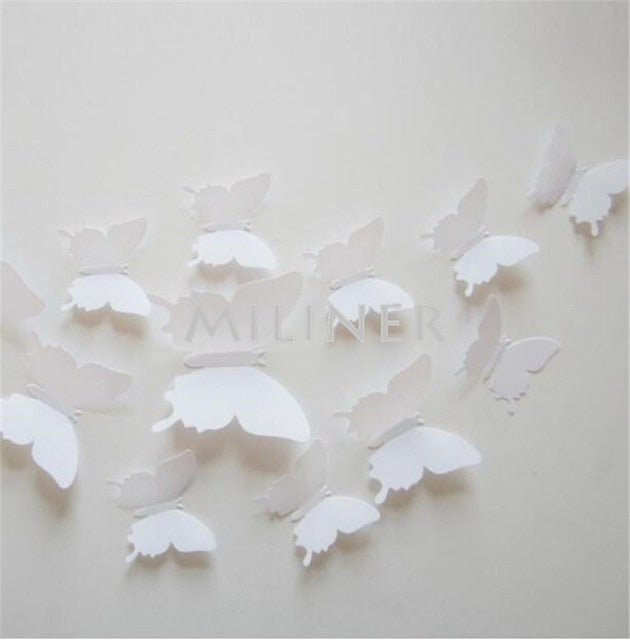 Buy 12pcs Butterflies wall stickers Best Sellers - Xshopz
