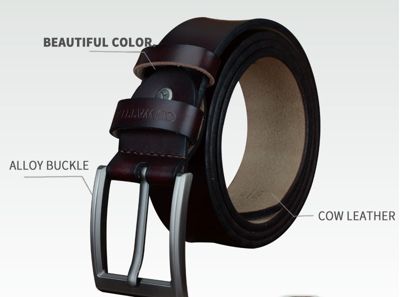 Genuine Leather Luxury Belts for Mens - XshopZ