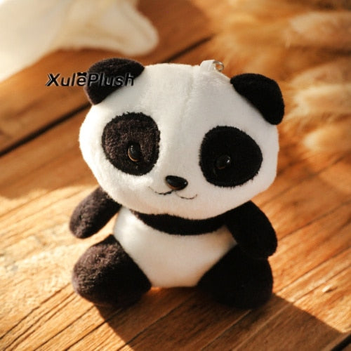 Buy Panda Plush Stuffed Keychain [10CM, 4 Colors] Toys - Xshopz