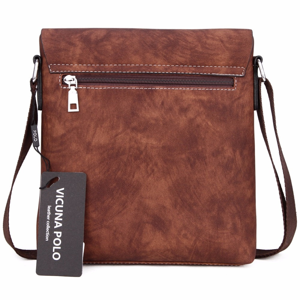 Vicuna Polo Vintage Men Messenger Bag - XshopZ