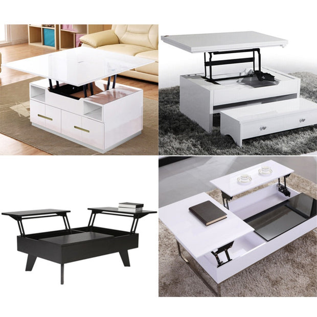 Hinge Coffee Table Lift Up Top Frame - XshopZ