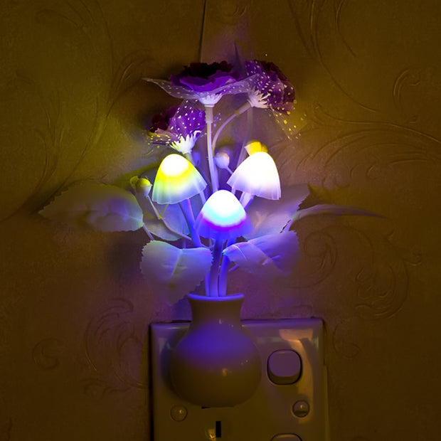 Buy Mushroom LED Night light Home & Garden - Xshopz