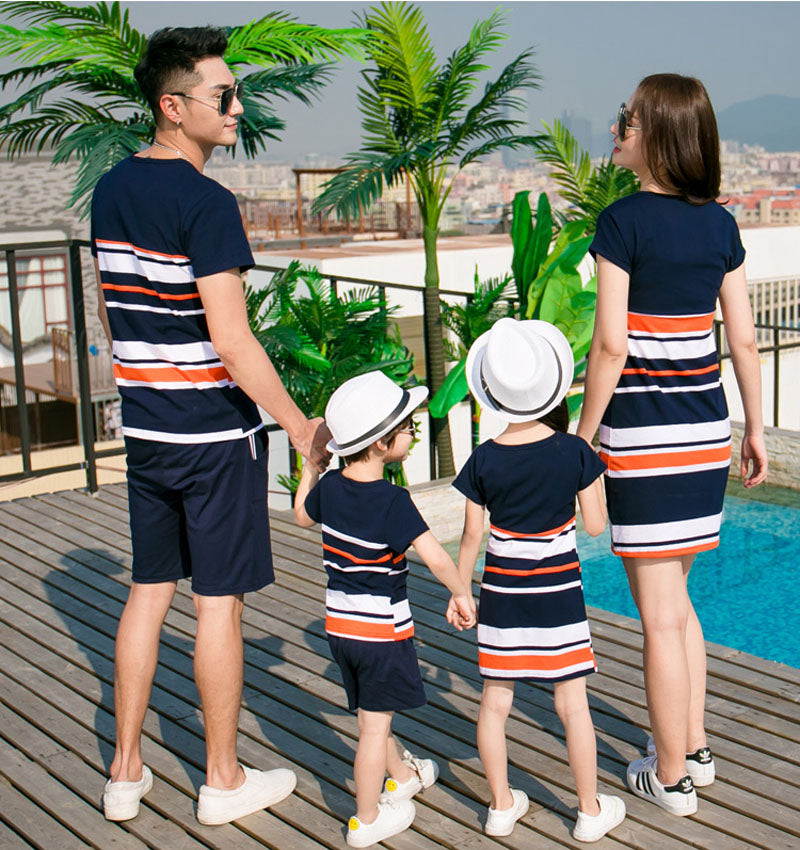 Summer Family Matching Outfits Dresses - XshopZ