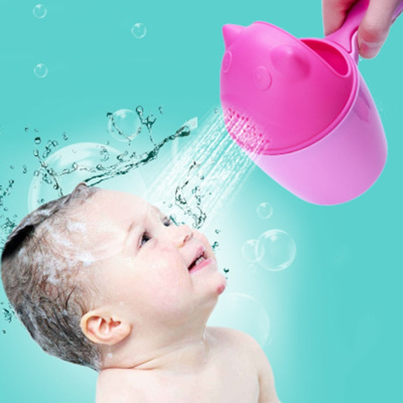 Buy Baby Shower Water Spoon Bath Wash Cup Mother & Kids - Xshopz