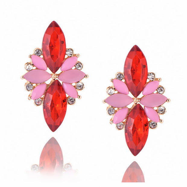 New Women's Fashion Crystal  Earrings