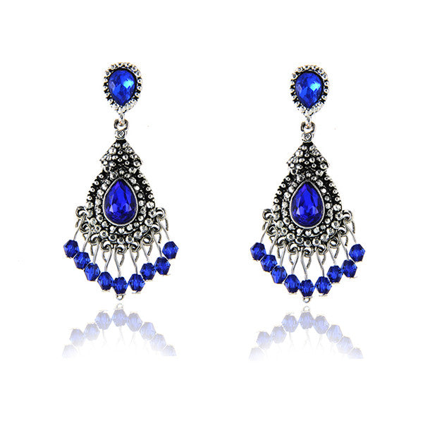 New Women's Fashion Crystal  Earrings - XshopZ
