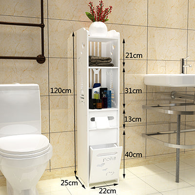 Buy Bathroom Vanity Floor Standing Storage Cabinet Furniture - Xshopz
