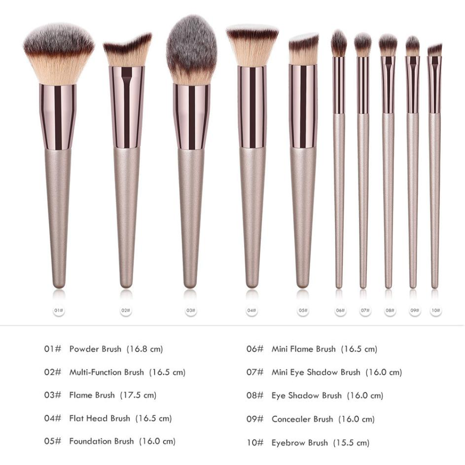 Buy Ist Women's Wooden Makeup Brushes Health & Beauty - Xshopz