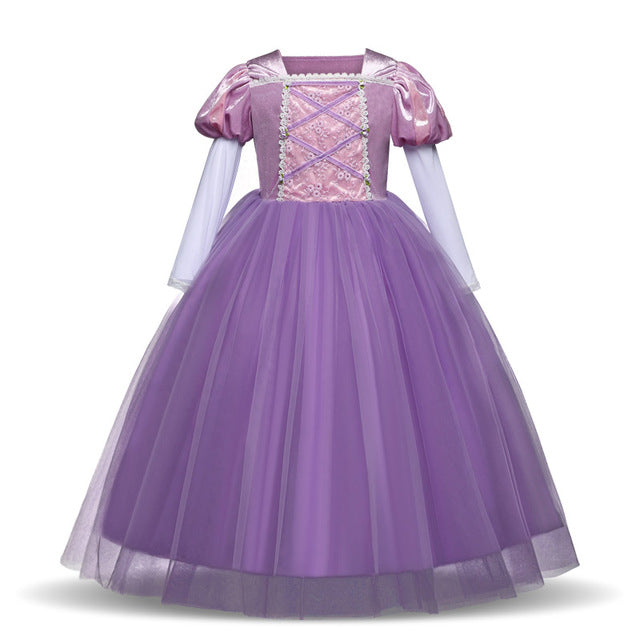Children Role-Play Princess Costume Dress Set - Xshopz