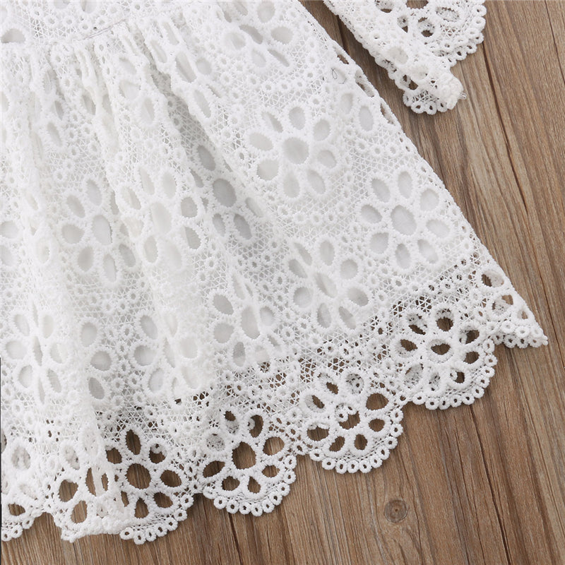 Mother Daughter Matching Floral Lace Dresses - XshopZ