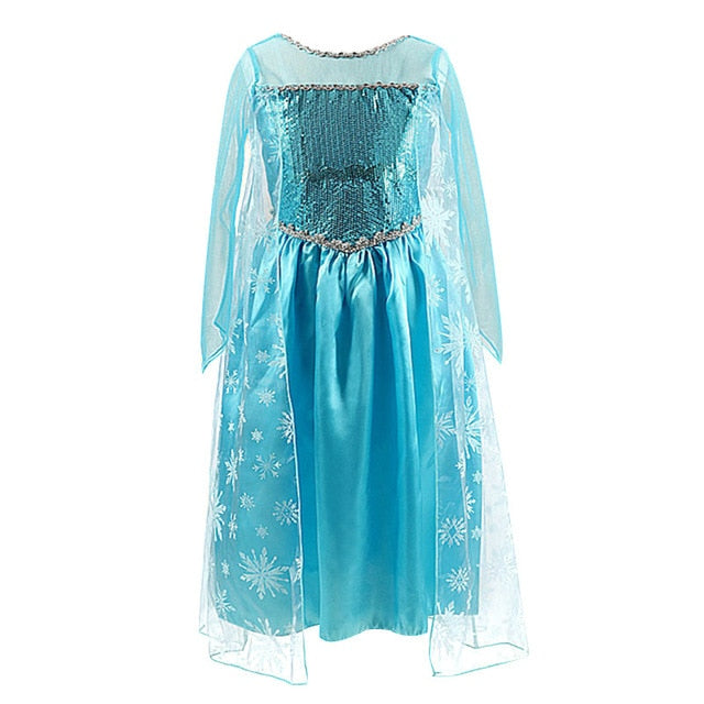 Halloween Princess Costume Party Girls Kids Clothing - XshopZ