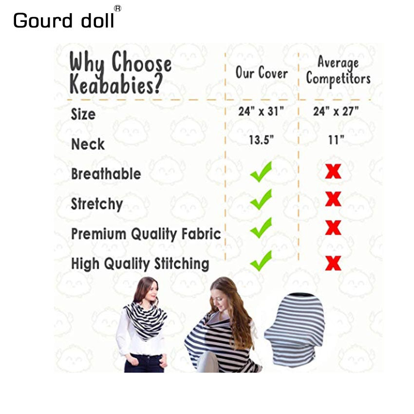 Buy Canopy Nursing Stretchy Scarf Mother & Kids - Xshopz