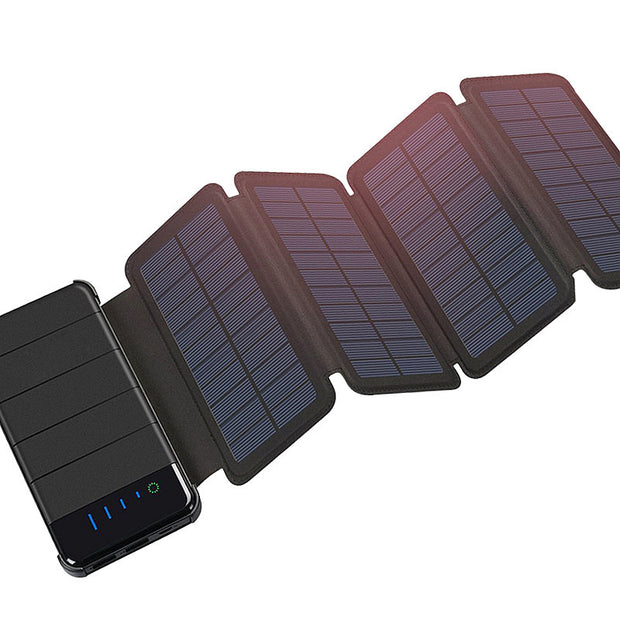 Buy Portable Solar Panel Power Bank & Charger Tech Accessories - Xshopz