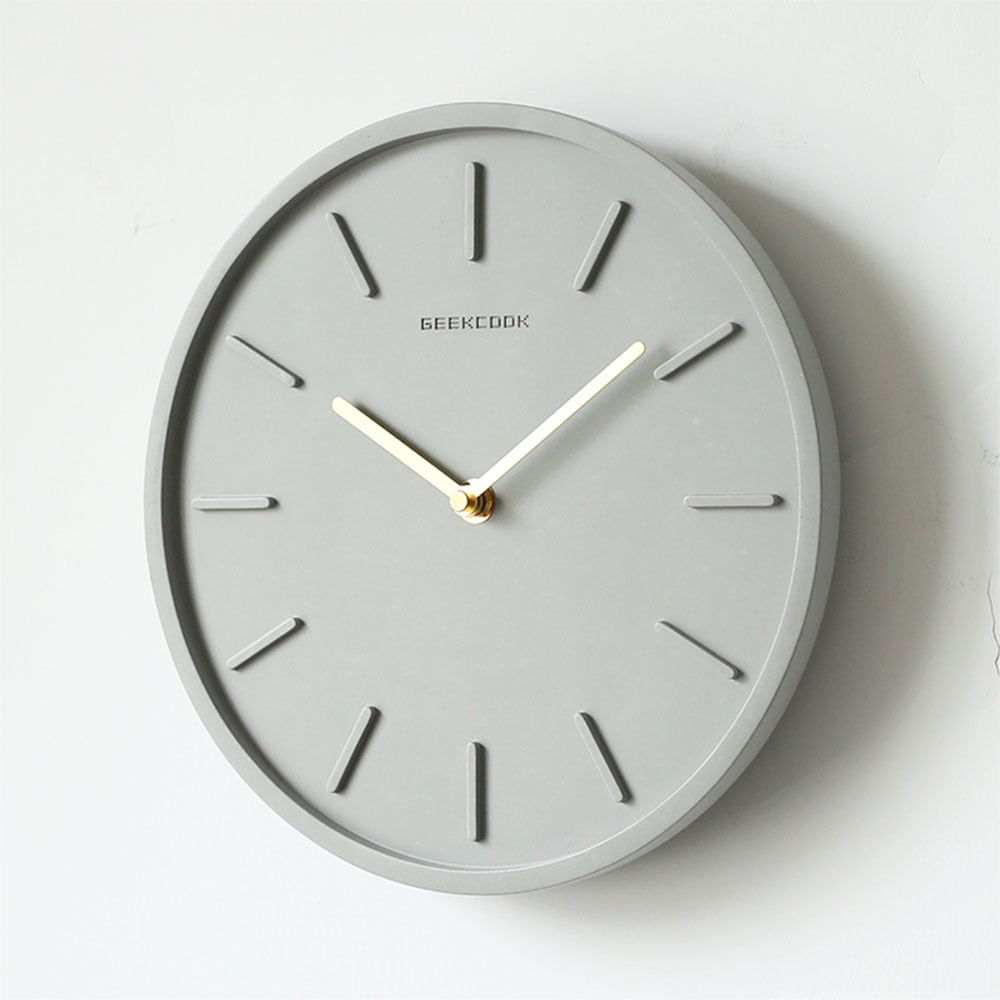 Buy Nordic Creative Cement Wall Bedroom Clock Home & Garden - Xshopz
