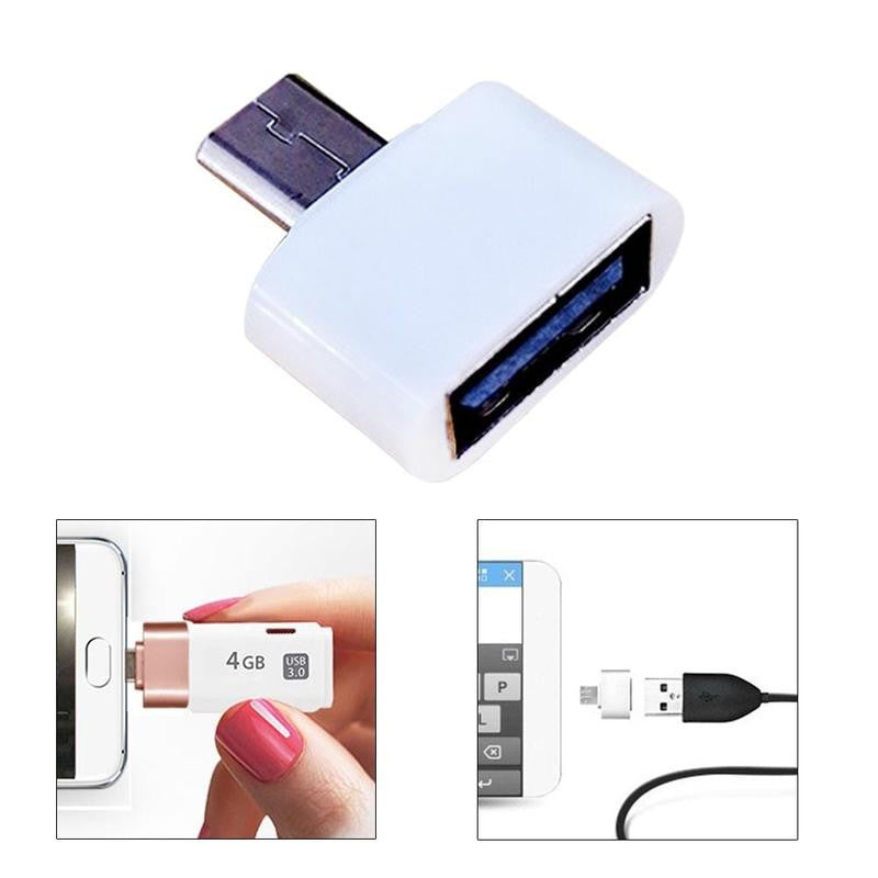 Buy Micro USB Male to USB 2.0 Adapter OTG Converter For Android Tablet Phone Electronics - Xshopz