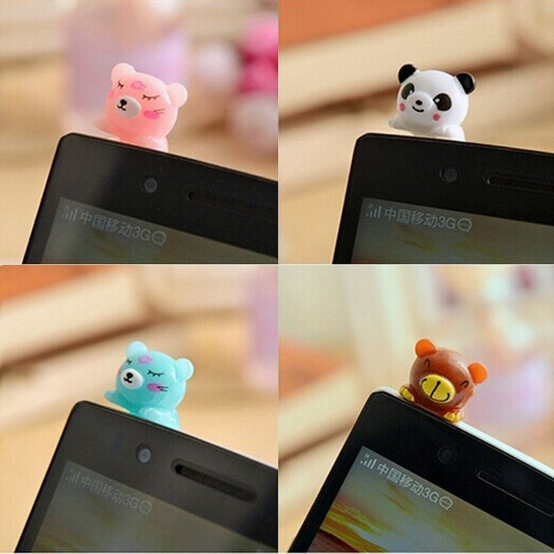 Buy 3.5mm Headphone Earphone  Fashion Lovely Animal Design 1pc Electronics - Xshopz