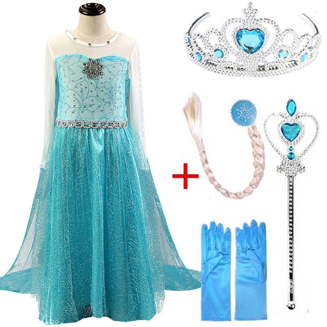 Buy Princess Queen Dresses Costumes Clothing Set Mother & Kids - Xshopz