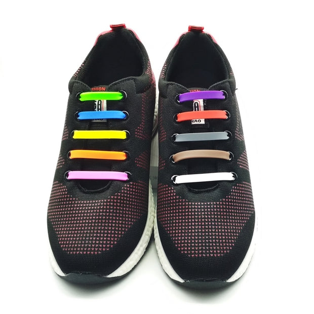 Buy No Tie Silicone Creative Unisex Shoelaces Men's Footwear - Xshopz