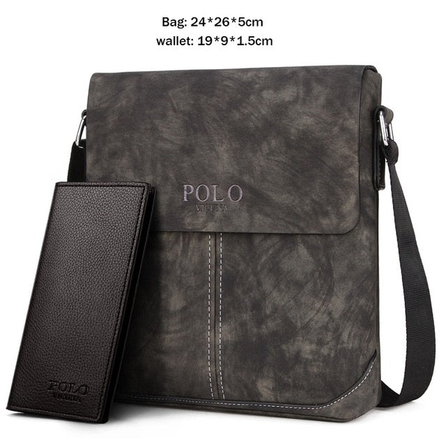 Buy Vicuna Polo Vintage Men Messenger Bag Men Accessories - Xshopz