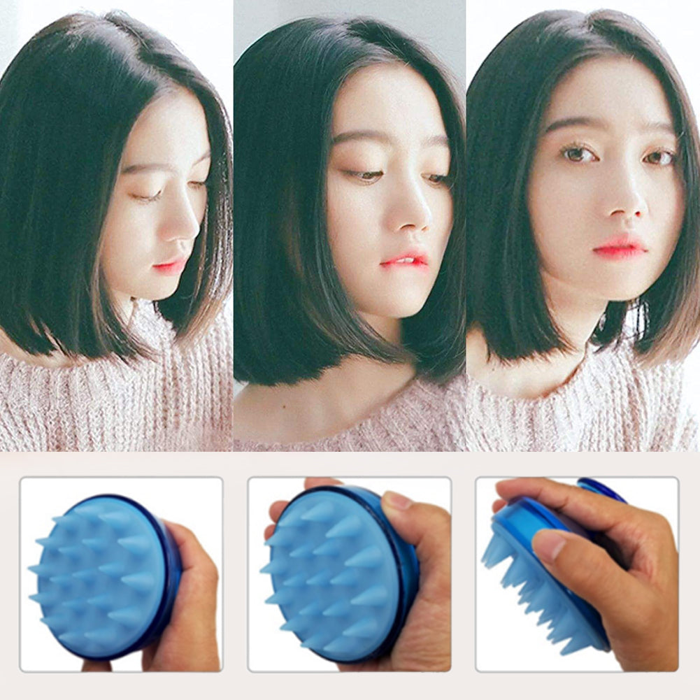 Buy Silicone Spa Shampoo Brush Shower Bath Comb Best seller - Xshopz
