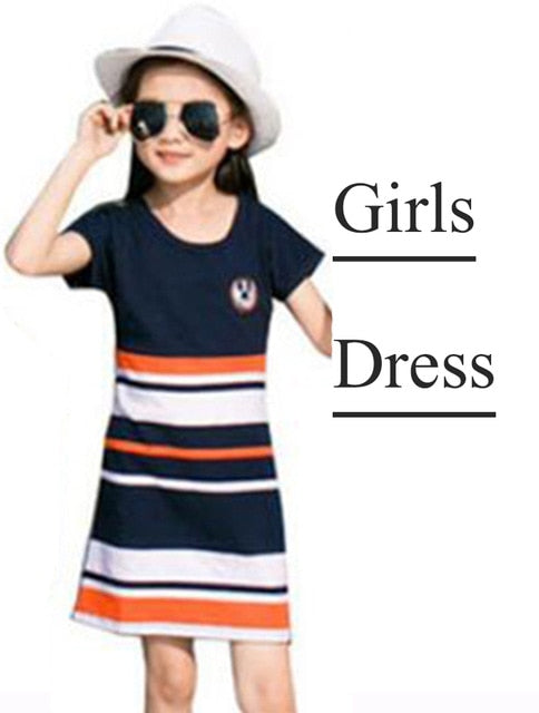 Buy Summer Family Matching Outfits Dresses Mother & Kids - Xshopz