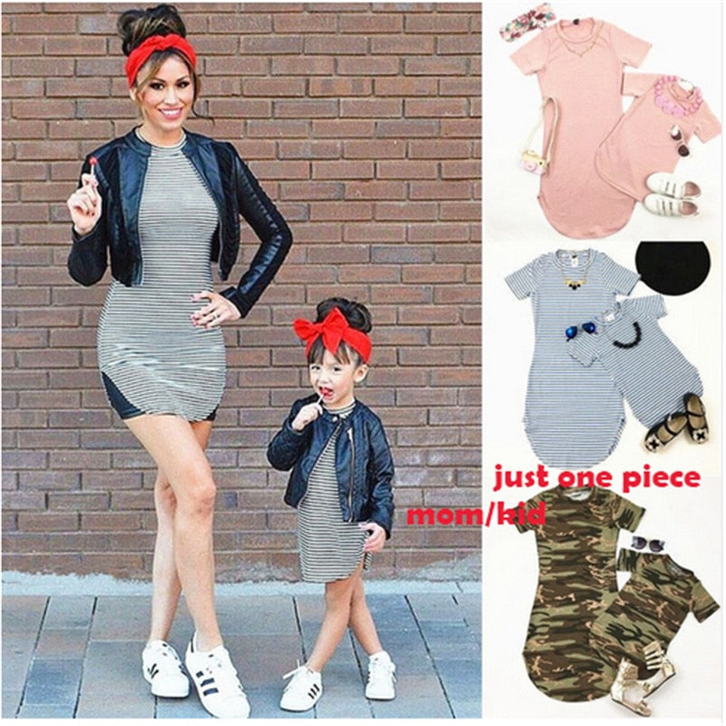 Buy Xshopz Mother daughter Family Matching Clothes Mother & Kids - Xshopz