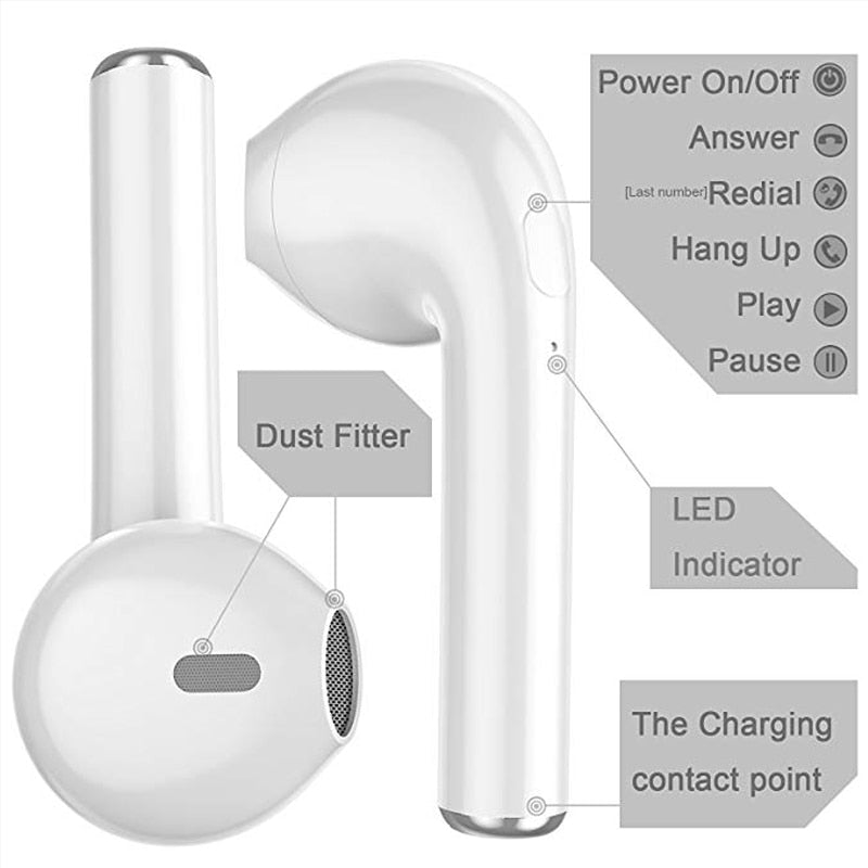 Buy TWS Mini Wireless Bluetooth Stereo Air pods Trending - Xshopz