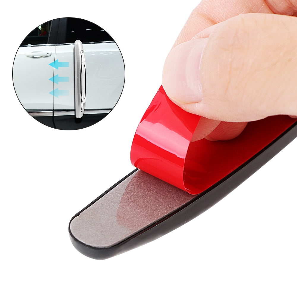 Buy Anti-Collision Car Door Guard Strip (4 Pieces/pack) Car Accessories - Xshopz