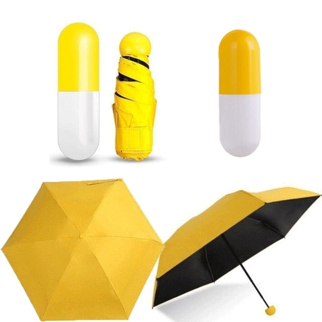 Buy Mini Folding Capsule Box Pocket Umbrella  - Xshopz