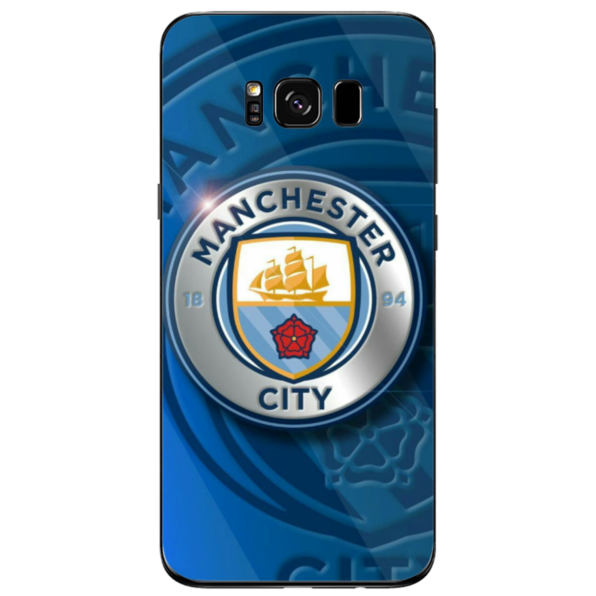 Manchester City Logo Samsung Mobile Cover - TheSportStuff