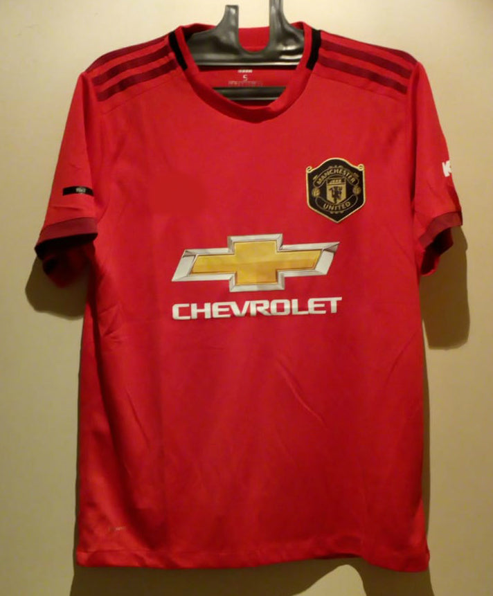 check out 50147 0168b Pogba Manchester United Home Jersey 2019/20