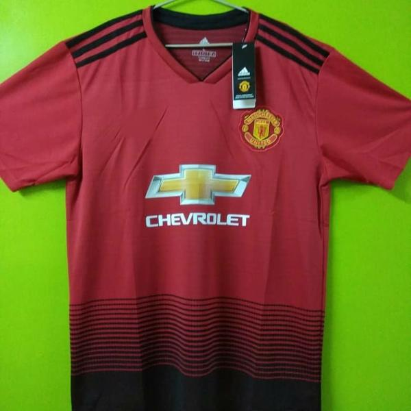 check out fce3b 6de7e Zlatan ibrahimovic Manchester United Home Jersey 2018/19