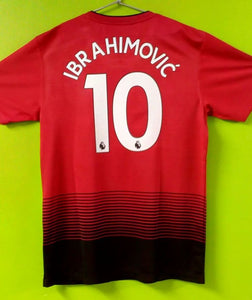 wholesale dealer 76037 d0e14 Zlatan Ibrahimovic Manchester United Home Jersey 2018/19 ...