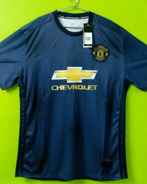 the latest 5d060 ff23b Pogba Manchester United Third EPL Jersey 2018/19