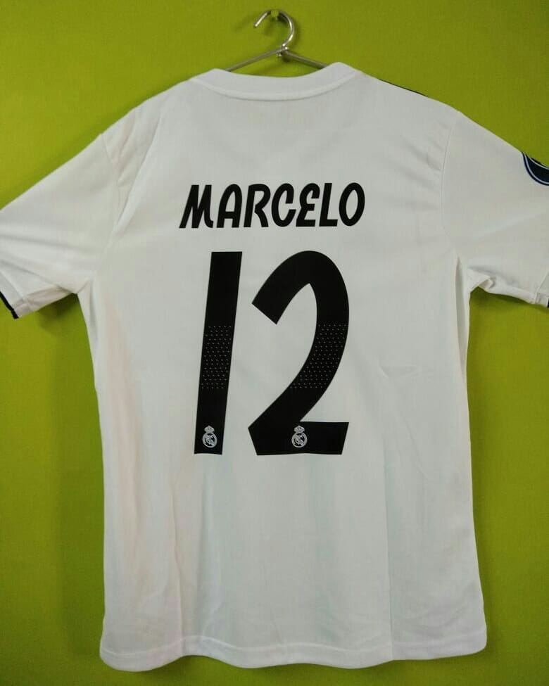 18538f507 Marcelo Real Madrid Home Jersey 2018 19 ...